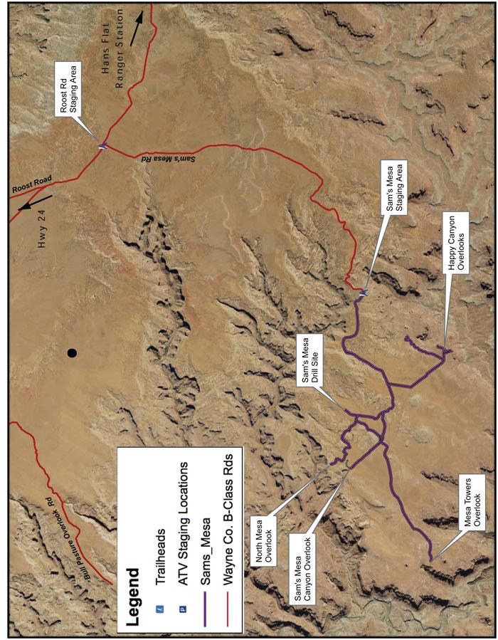 Sam's Mesa Trail