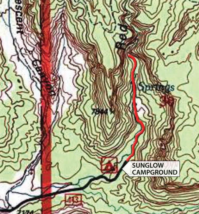 Sunglow Trail