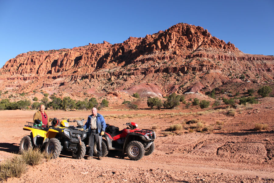 Utah ATV riding in Capitol Reef Country